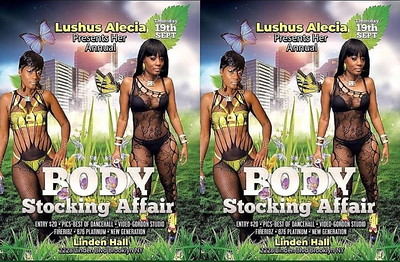 "LUSHUS ALECIA ""BODY STOCKING AFFAIR"" (5)"