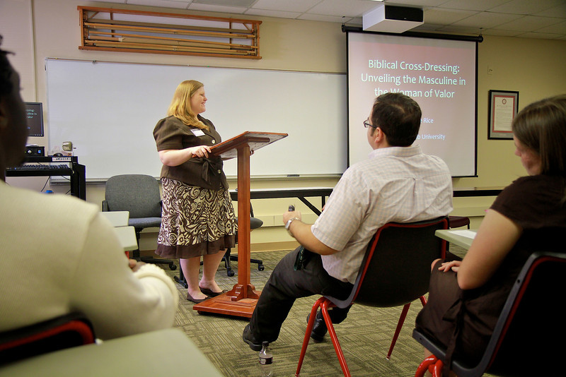 NABP (National Association of Baptist Professors of Religion) Conference breakout sessions on the campus of Gardner-Webb University; May 2011.