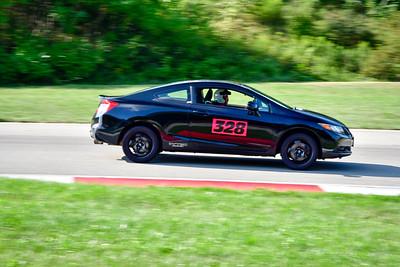 2021 SCCA TNiA  Aug 27 Pitt Int Blk Civic 328