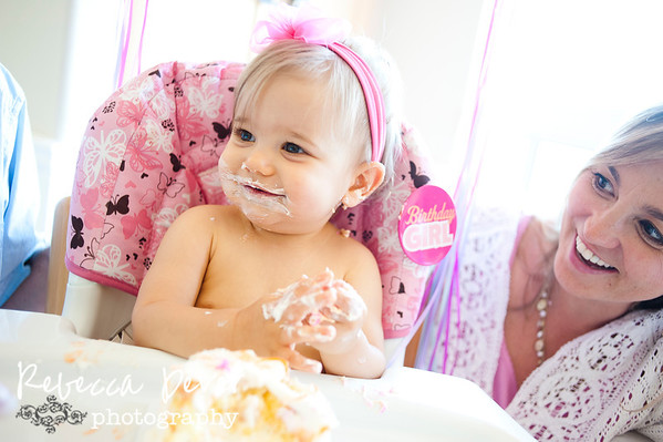 Lil Miss Casey turns one!