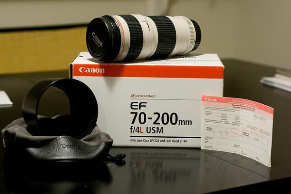 Sold: Canon 70-200 F4 L