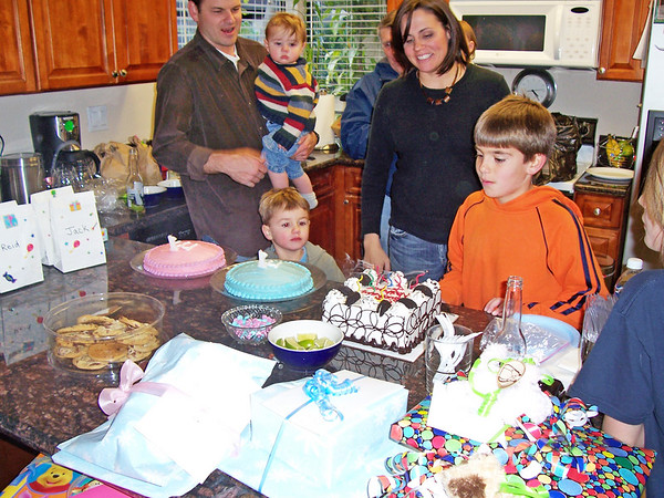 Nathan, Mathew, and Mia's Birthday