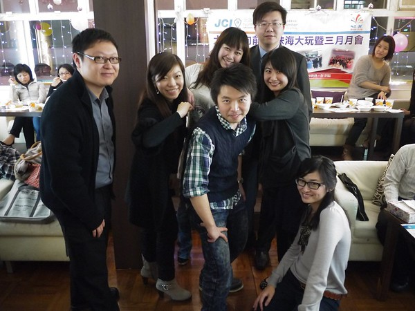 20110328 - 大踏步向前走–珠海、大玩暨三月份月會