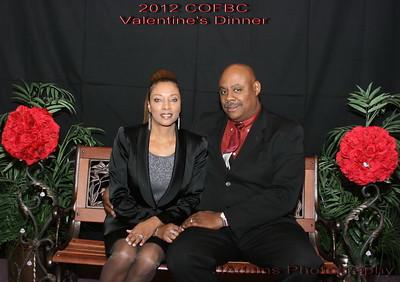 COFBC Valentine's 2012 Banquet