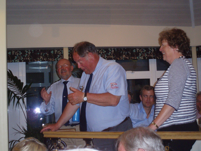 """The first """"End of Cruise Dinner"""" at St Peterport"""