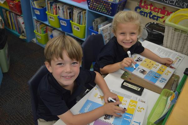 2nd week of Kindergarten