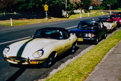 Breakfast Run to Kurrajong July 2001