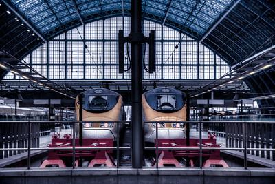 St Pancras London Railway Stations