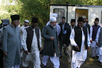 Huzur visits Rushmoor for Inspection of the facilities