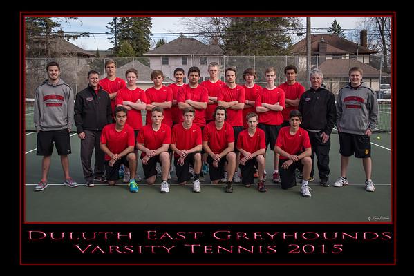 Duluth East Boys Varsity Tennis 2015