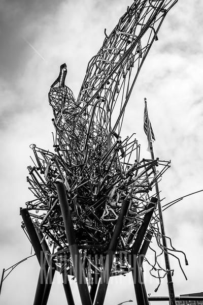 Uptown Sculpture Art