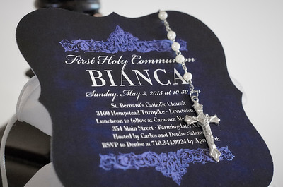 Bianca's Holy Communion