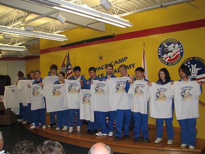 2009_09_25 - Huntsville US Space and Rocket Centre - Space Camp Graduation
