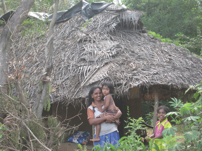 This Sri Lankan family desperately needs a decent home.