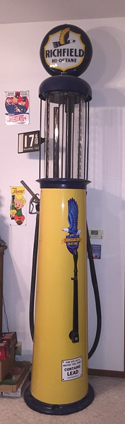 Wayne 57.B 10 gallon visible gas pump. $4,000.