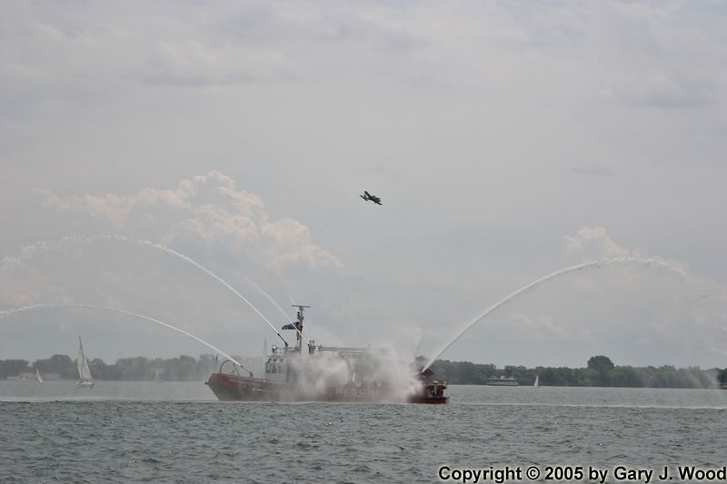 Fireboat Fly-by