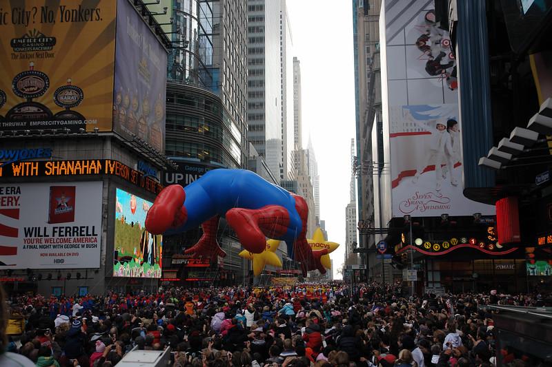 SPIDERMAN Macy's Thanksgiving Parade 2009 in Manhattan