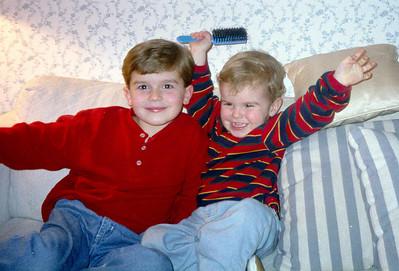 1996 Christmas Card Photos