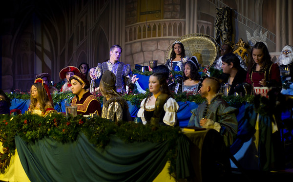 12/06/19 Wesley Bunnell | StaffrrThe New Britain High School Music Department held their annual Elizabethan Madrigal Feaste on December 6th & 7th at New Britain High School. The Madrigal Singers perform.