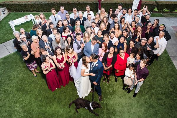 Kristy & Dean: Group photos