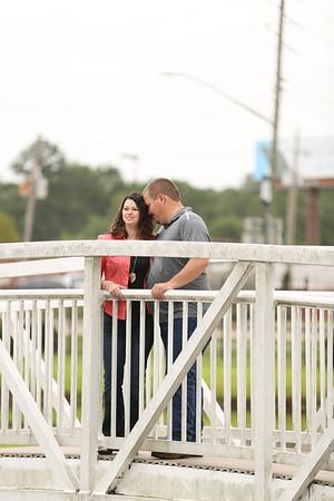 Alyssa Barrett and Jarrod Hill engagement