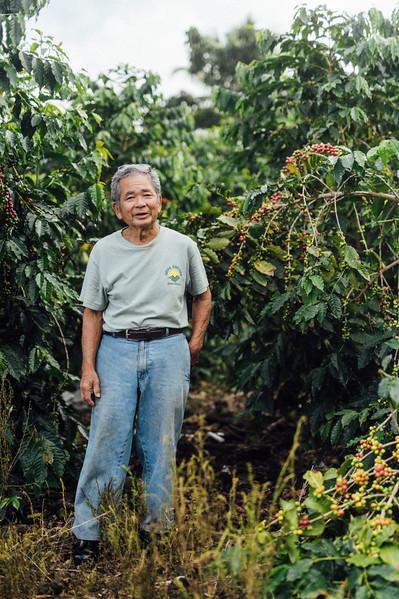 Mel Kunitake // Kona Coffee Farmer