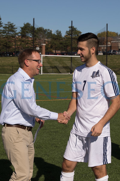 Men's Soccer vs. Potsdam (Faculty Recognition)