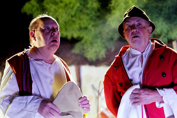 Scenofeerie de SEMBLANCAY - Les 2 hommes villageois