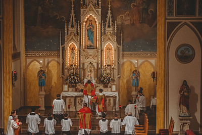 FSSP Installation of Fr. Gismondi, Pastor St. Marys