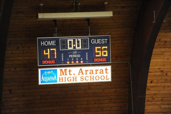 LHS beats Mt.Ararat in overtime 02-04-14