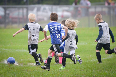 MYSA U8 Royal Blue vs Silver June 6