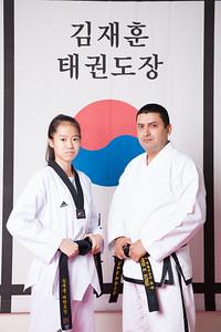 JH KIM Taekwondo Graduation