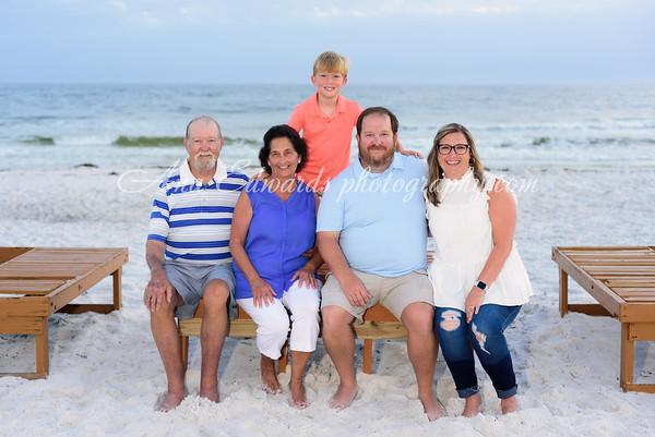 The Broome family 2021     Panama City Beach