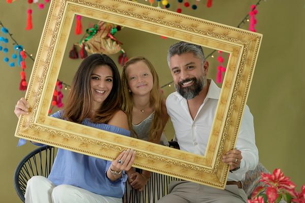 Karen y familia