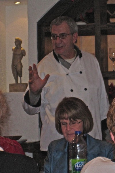 Nick, owner and chef of Ellada