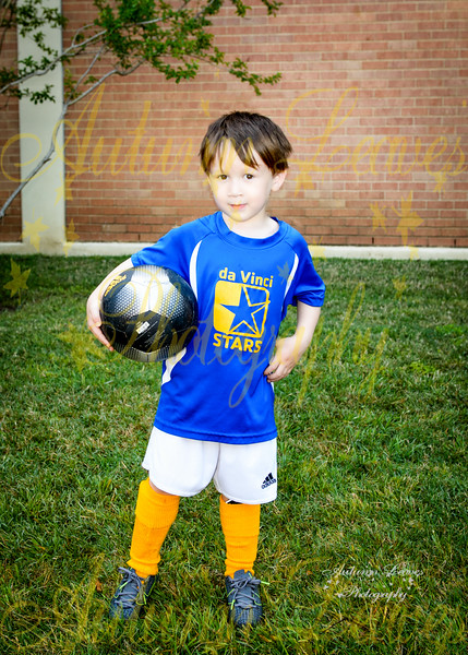 Rookie da Vinci STARS (Blue) - TNYMCA Soccer Spring 2016 -