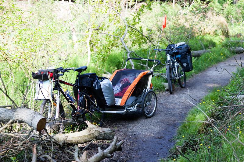 Bornholmskie scieżki rowerowe nie zawsze były usłane różami - Paradisbakkerne