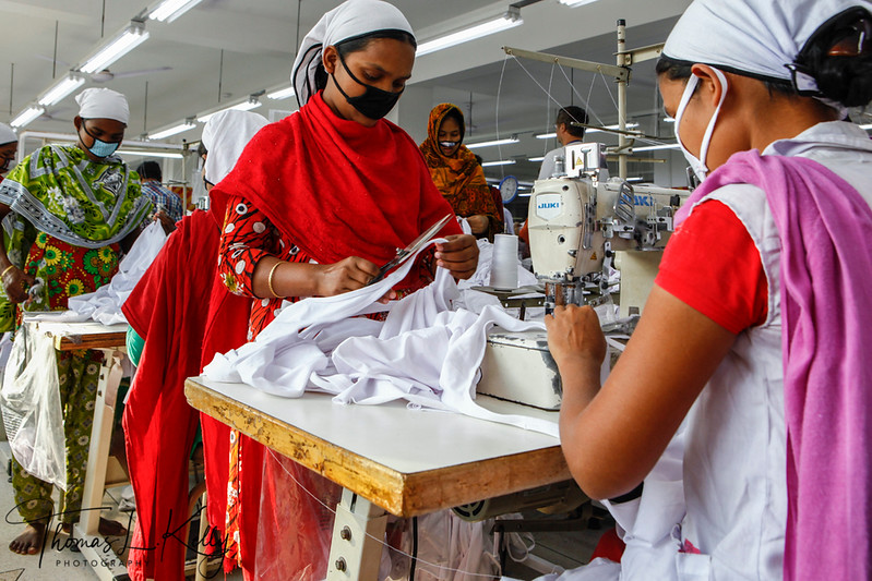 Garment Factory, Bangladesh