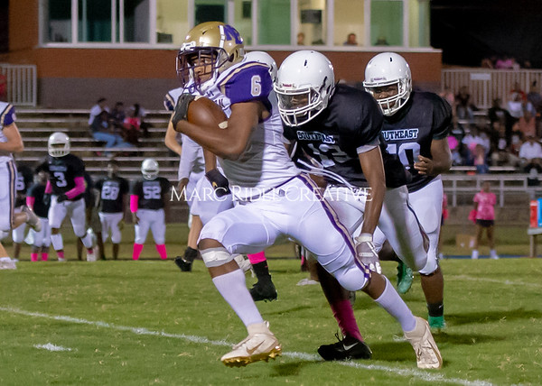 Broughton Varsity football at Southeast Raleigh. October 4, 2019. D4S_5063