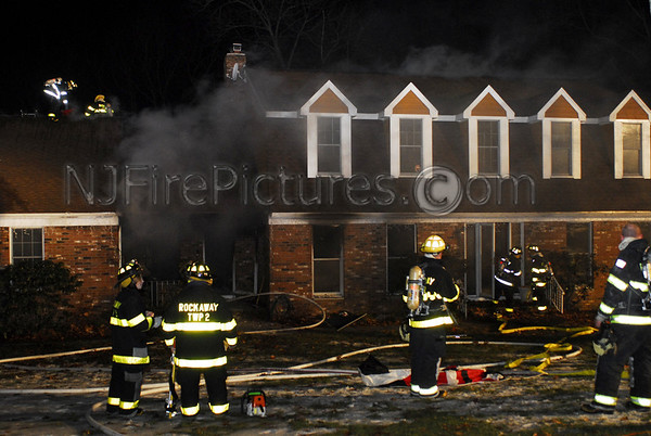 Rockaway Twp. House Fire 28 Lake Denmark Rd. December 29, 2007