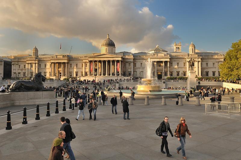 Trafalger Square, London 2009
