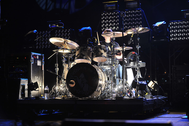 Smashing Pumpkins drummer Mike Byrne