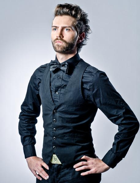 Fashion Portrait Ian Pulju for Hair Stylist Angie Sapanaro