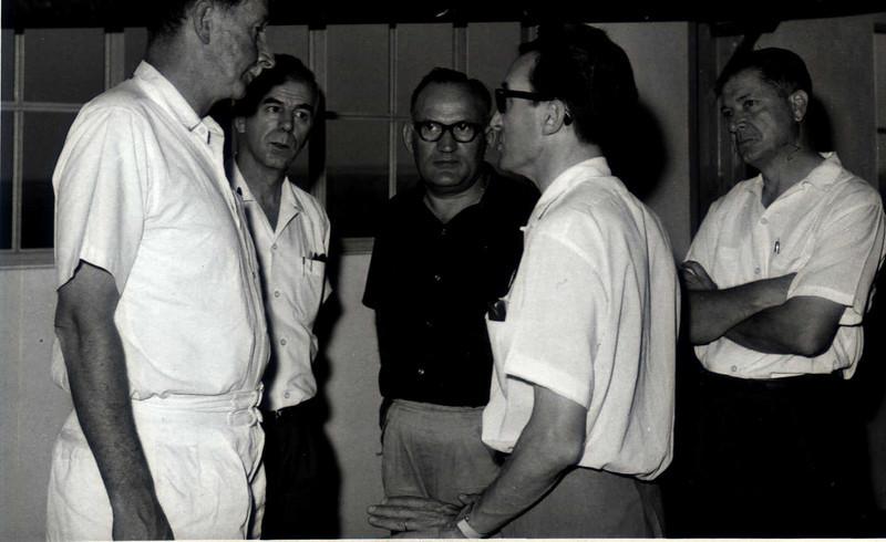 Eng. Ralph Daniel, Manuel Dyson, Eng. Matos, Daniel Casasnovas, Eng. Arruda