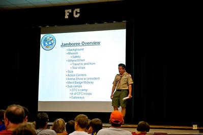 Troop Meeting, May 3, 2009