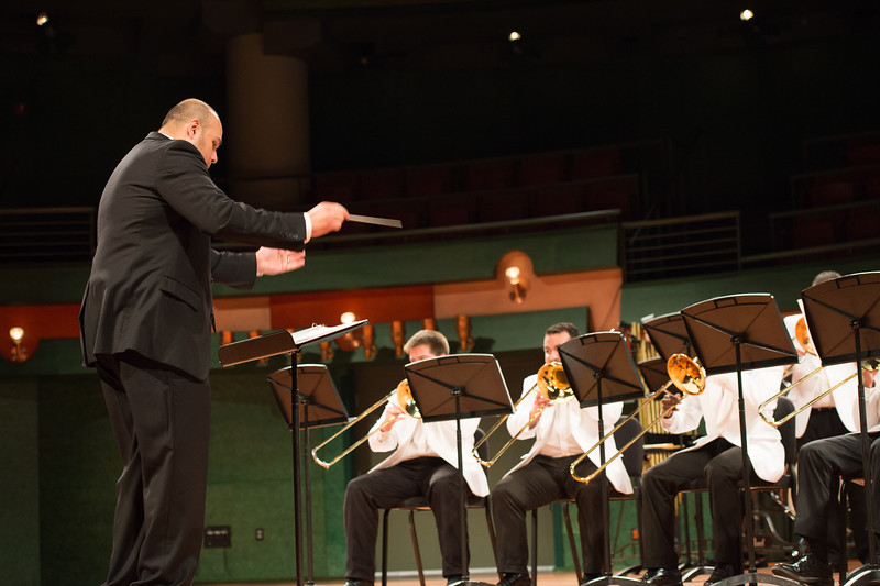The university Trombone Choir performs during the SAMC Awards.More photos: https://flic.kr/s/aHskzbSb3r