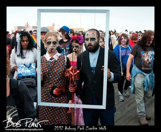 Zombie Walk Asbury Park 2012