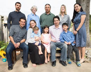 Saenz Family Portrait