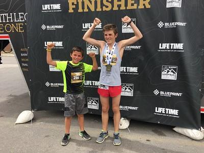 Clare Rides at 10K & Runs at 14K in Colorado - August 12-20, 2017