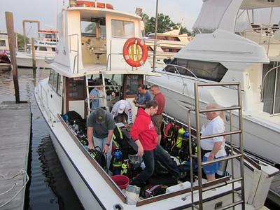 LIDA Sponsored Dive on the Sea Hawk